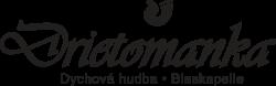 Logo dychovej hudby Drietomanka